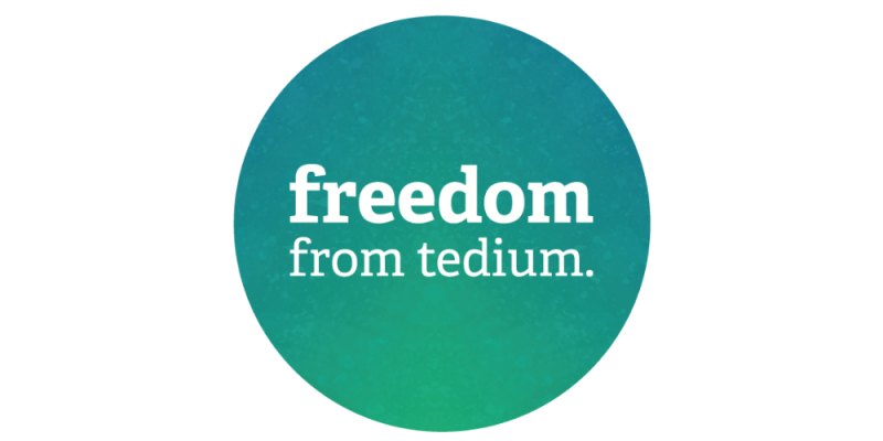 Freedom From Tedium